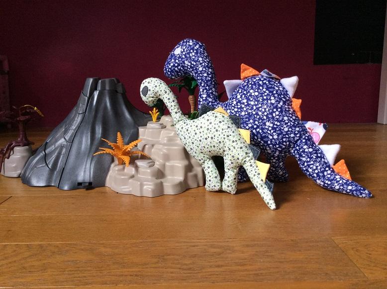 Doudous dinosaures & Préhistoire