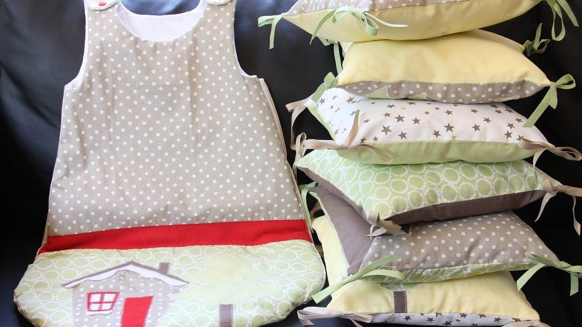 Collection montagne Jaune/Taupe/Vert