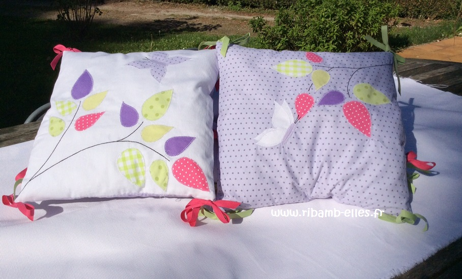 collection hibou violet mauve turquoise ribamb 39 elles. Black Bedroom Furniture Sets. Home Design Ideas
