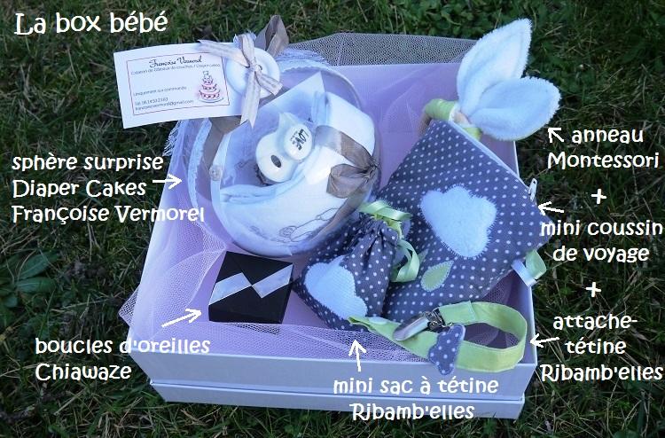 Cadeau box bébé creation sur-mesure personnalisé