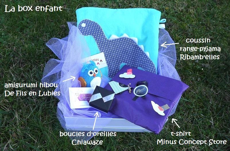 Cadeau box enfant creation sur-mesure personnalisé