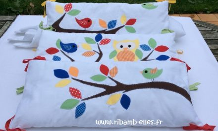 Collection Hibou Blanc/Multicolore