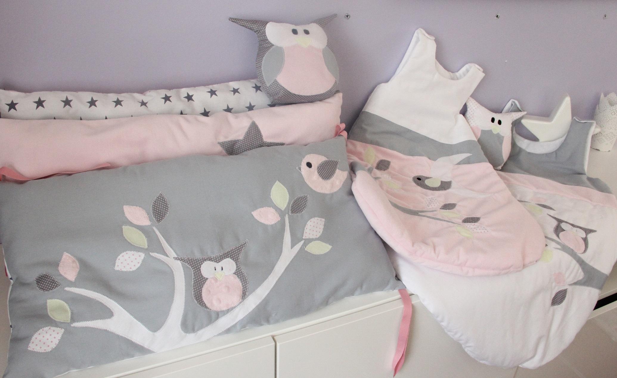 Collection complète rose/gris